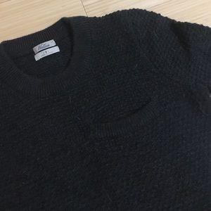 Madewell Wallace Grey Wool Sweater
